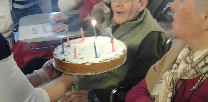 I Giovani PSM di Milano in visita ad un Centro anziani