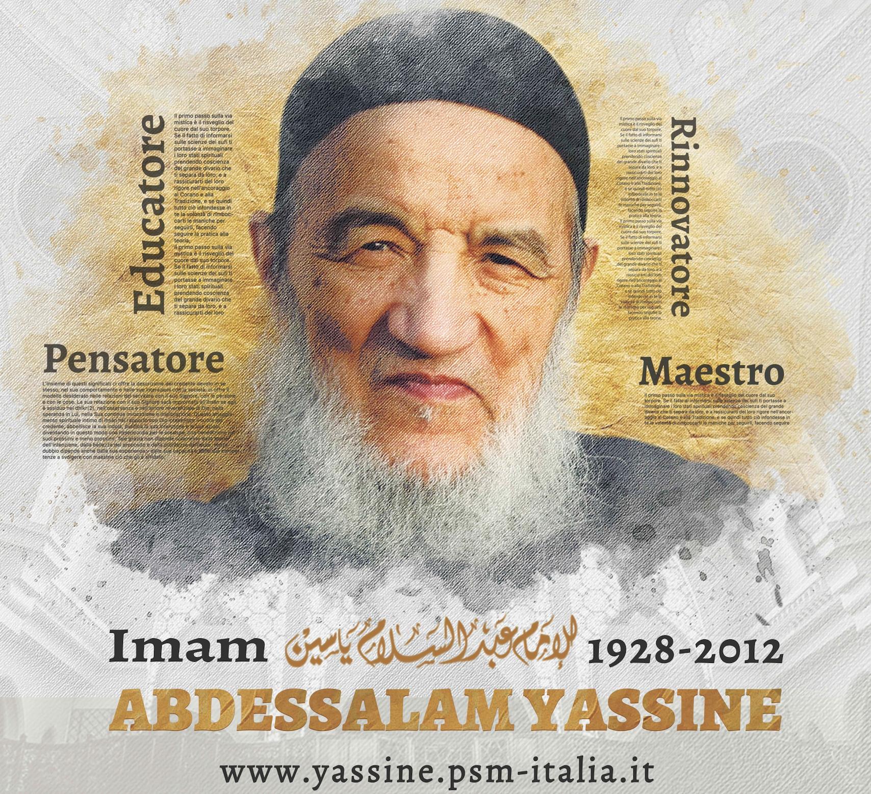 Imam Abdessalam Yassine in italiano