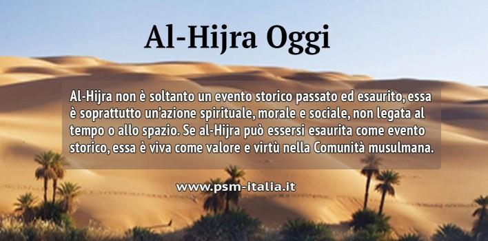 Al-Hijra Oggi