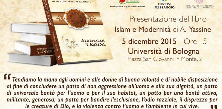 """Presentazione libro """"Islam e modernità"""" di Abdessalam Yassine all'università di Bologna"""
