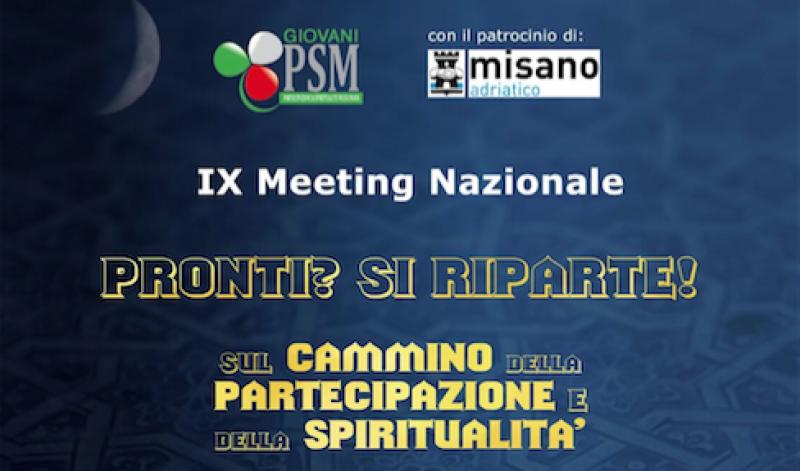 I Giovani PSM inaugurano il loro IX Meeting Nazionale a Rimini