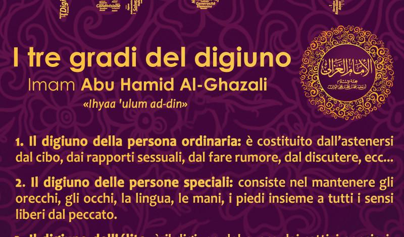 I tre gradi del digiuno | Imam Al-Ghazali