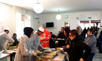Pranzo di PSM a favore degli sfollati del terremoto delle Marche
