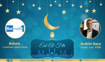 Rai Radio1 intervista Brahim Baya di PSM – I significati della Festa del fitr