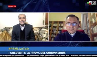 I credenti e la prova del coronavirus – Dialogo tra un imam e un vescovo | 1a puntata #PSMLiveTalk