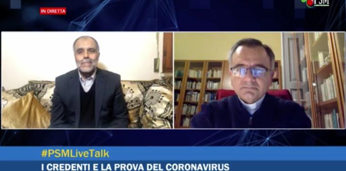I credenti e la prova del coronavirus – Dialogo tra un imam e un vescovo   1a puntata #PSMLiveTalk
