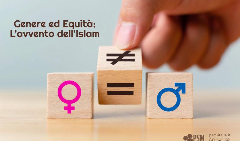 Genere ed Equità: l'Avvento dell'Islam